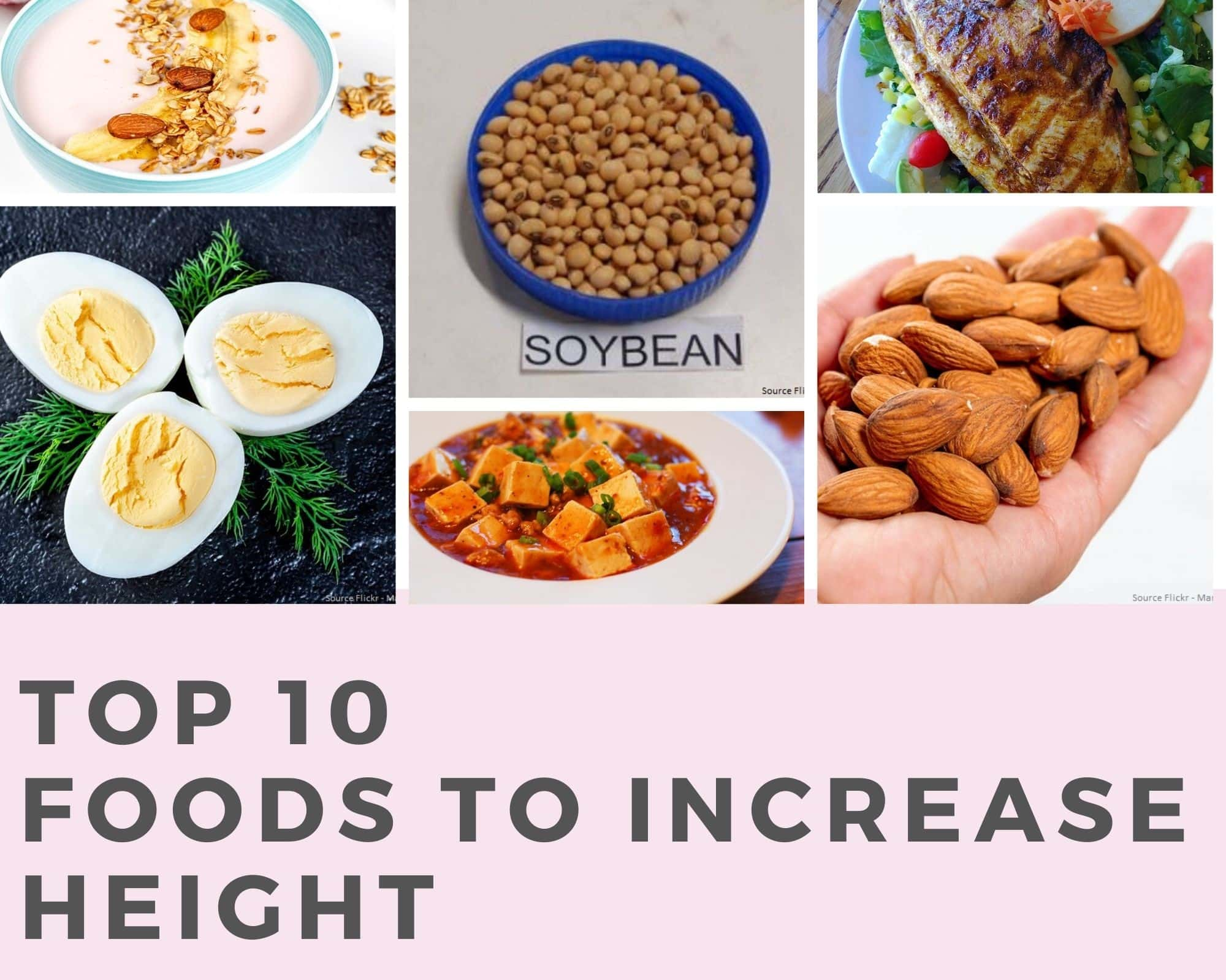 Top 10 Foods to Increase Height